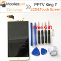 PPTV King 7 LCD Screen 100% Original Replacement LCD Display +Touch Screen For PPTV King 7 2560x1440 2K 6.0inch Smartphone