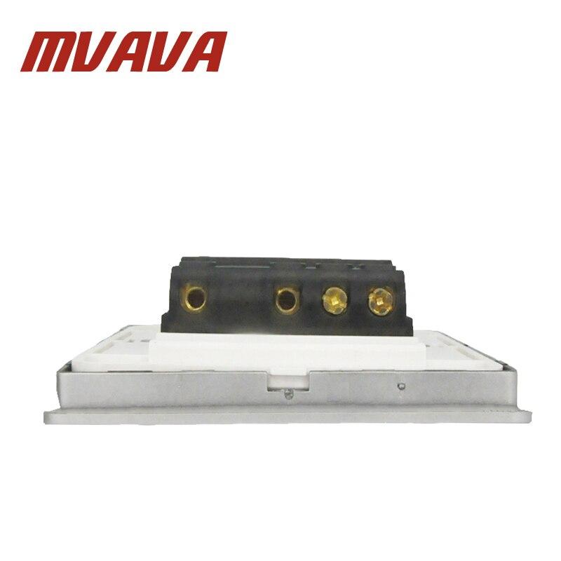 MVAVA Elektrische key Push Button Lichtschalter 3 Gang 2 weg 250 V ...