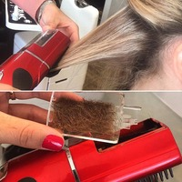 2016 New Hair Straighteners Comb Electric Fast Hair Straightener Comb LCD Hair Care Hair Straightening Brush