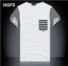 best service 5517f e0bcb HGFS Fitness False pocket T Shirt Men Designer Clothes Cross Flag Leather  TShirts Male Military Casual T-Shirts O Neck Slim Fit
