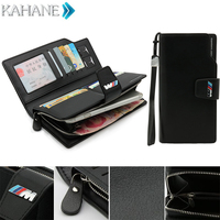 Genuine Leather Men Clutch Bag Black Wallet Car Driver License Bag Credit Card Handbag For BMW