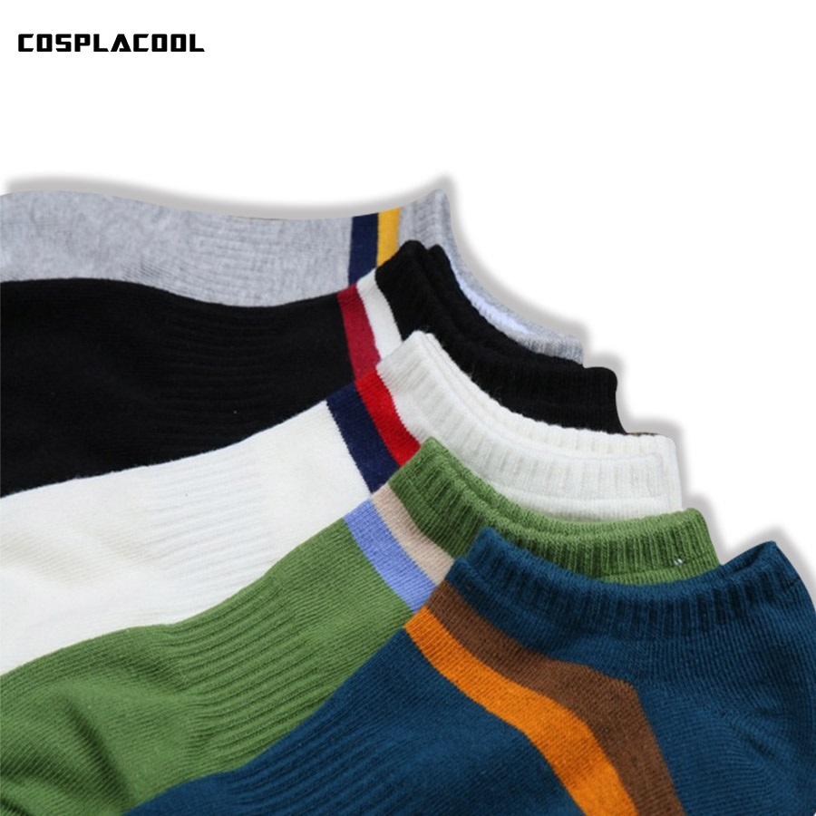 [COSPLACOOL]Men socks korean cotton harajuku meias striped high quality breathable socks men calcetines hombre