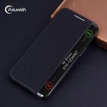 יוקרה עור חכם צפה Flip Case כיסוי עבור LG X כוח LGX 1xpower LGXpower K210 K220 K220DS K220DSZ K 220 DS עמיד הלם Funda