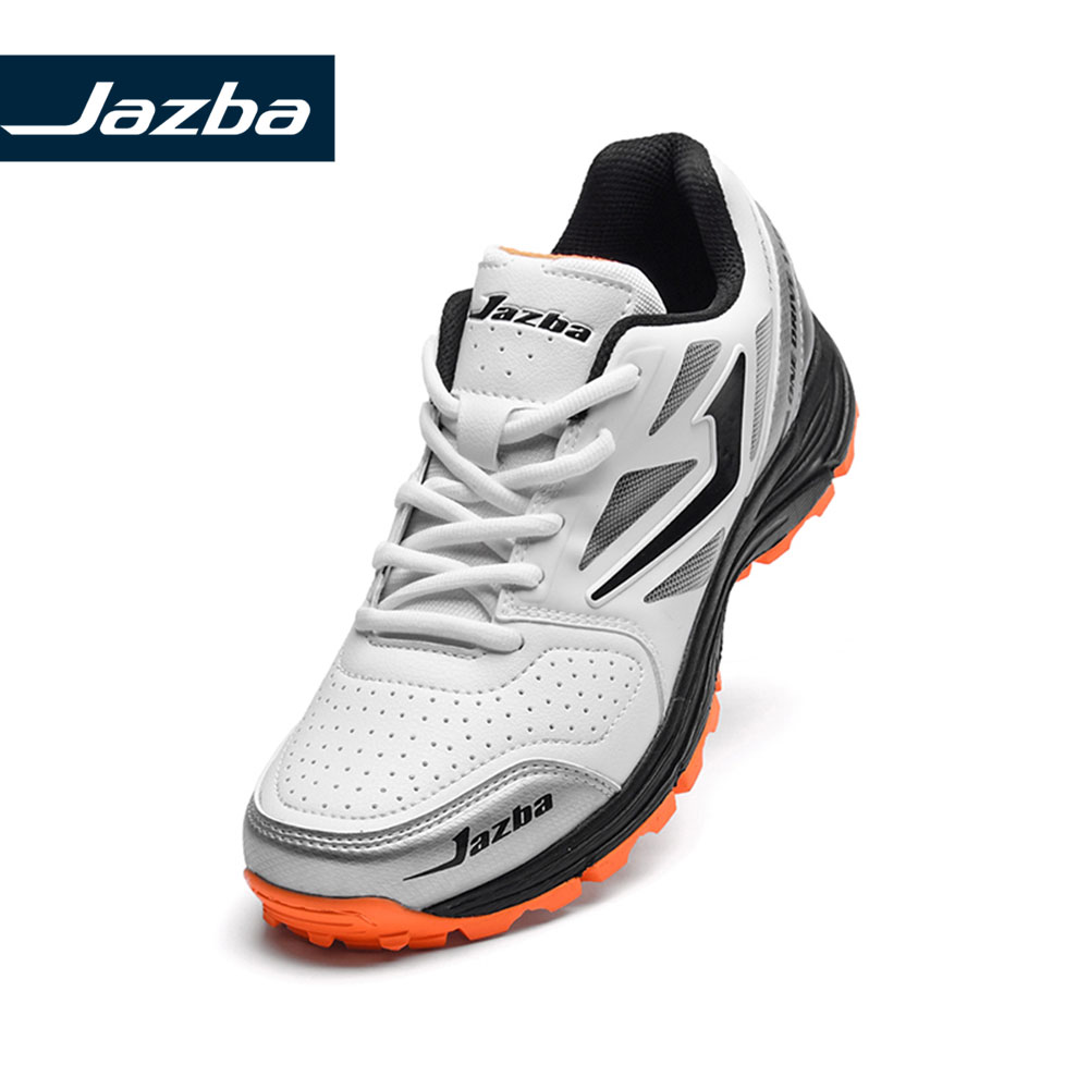Jazba ONEDRIVE 110 Men's Cricket Rubber Cleats Shoes Men Sneakers Breathable Cushioning Outdoor Sport Shoes Best For Cricket