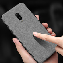 Luxury Cloth Texture Silicone Phone Case For Oneplus 6T 6 5T 5 Ultra-thin Textile Cover For Oneplus 6 T 5 T Fabric Funda Coque цена и фото