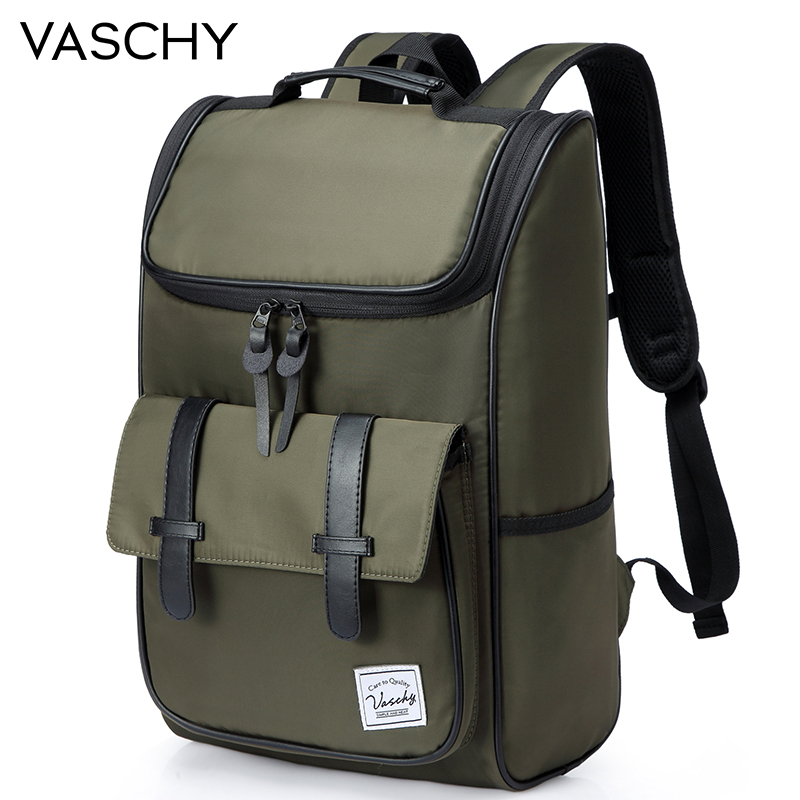 VASCHY バックパック男性スクールバッグバックパック卒高卒旅行バックパックランドセル女性のバックパック  グループ上の スーツケース & バッグ からの バックパック の中 1
