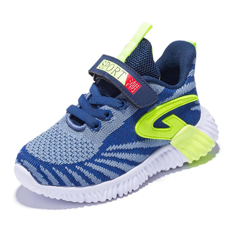Kids Shoes 2019 Boys Black Shoes Girls Causal Air mesh Sneakers Children Breathable Shoes Toddler Sports Sneakers AS3672