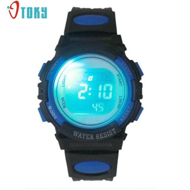 Colorful Fashion Boy Girl Watches Alarm Date Clocks Multifunction Sport Digital