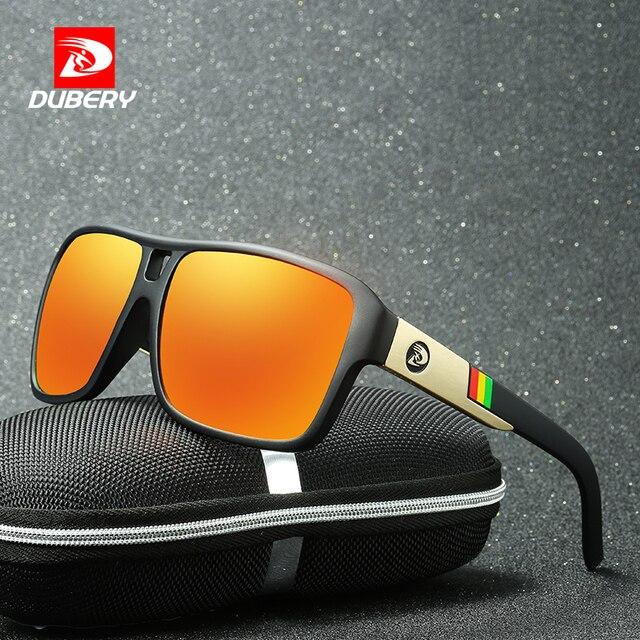e529669a1f59e DUBERY Aviação Tons Motorista do Sexo Masculino Óculos de Sol óculos de Sol  dos homens Polarizados