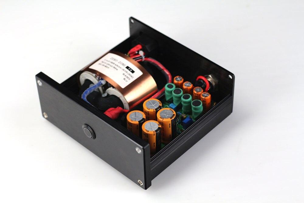 ZEROZONE 30W Hifi Ultra low noise Linear Power supply DC9V 2A R core transformer L6 51