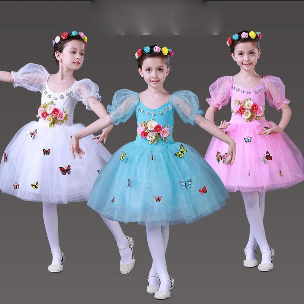 Kids\' Professional Ballet dance Costume Girls\' Swan Lake Ballet ...