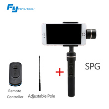 Feiyu FY SPG 3 axis handheld smartphone stabilizer gimbal for IPhone 6s plus IPhone 7 Action