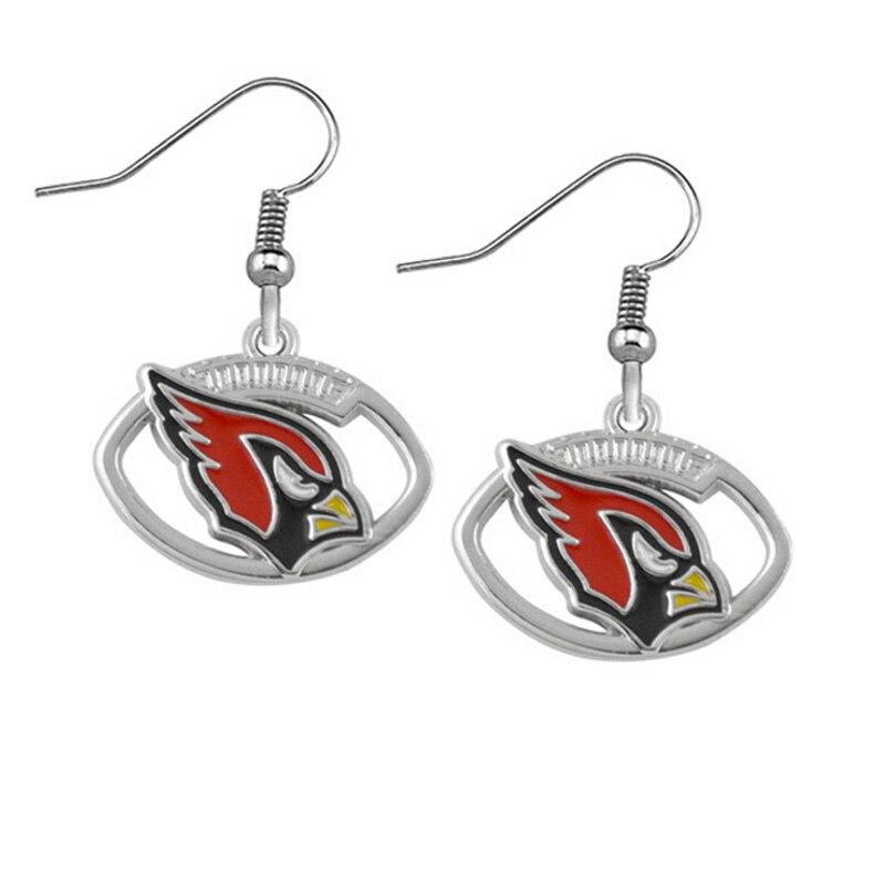 4f5d26cc187a 5 pairs St. Louis Cardinals Deportes de equipo esmalte Pendientes para el  deporte Ventiladores regalo