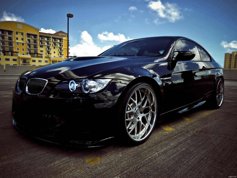 Bmw M3 360 Forged Black Car Auto Art Huge Print Poster Txhome D2465