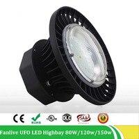 4 шт./лот Highbay свет 100 Вт 150 Вт 200 Вт 85 265 В IP65 промышленные светильники светодиодные кулон светильник садовый НЛО уличный светильник