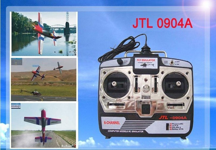ФОТО 6CH RC Simulator XTR+ Real flight G7 +phoenix5.0 JTL-0904A real Flight Training Airplan helicopter simulator Equipment P2