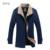 Homens Casacos De Lã de Alta Qualidade da Neve do Inverno Quente Cashmere Único Breasted Casacos de Design Da Marca Fino Business Casual Jaqueta E067