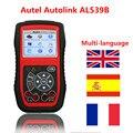Original Autel AL539B OBD2 OBD II & CAN Scan Tool Auto Link AL539B OBD2 Scanner Code Reader Diagnostic Tool Free Shipping