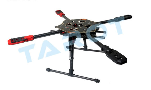 TAROT 650 Iron Man Sport Quadcopter Frame Kit with Retractable Landing Gear Skid Legs TL65S01 tarot retractable landing gear foldable skid tarot 650 680pro quadcopter landing gear quadrocopter frame kit rc diy drone kit