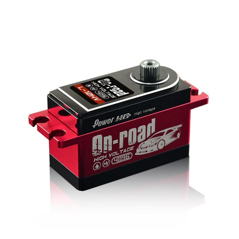 FATJAY puissance HD L-12HV numérique haute tension RC servo 12 KG engrenage en métal pour RC sur route dérive voitures de tourisme