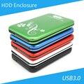 [ Dhl ] de alumínio 2.5 polegada SATA HDD externo caixa caixa usb HD 1 TB - 30 pcs