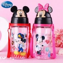 Disney HM3168M Kunststoff Wasserflaschen mit Stroh Seil Tragbaren Leck puh Cartoon Kinder Wasserkocher BPA FREI Wasserflaschen