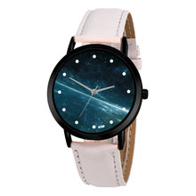 Astronomy Space Unique Solar System Watch Planets Unisex Classy Casual Quartz Leather Strap Analog Watches Montre Femme