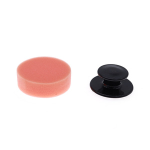 Image 4 - Wax Applicator Pad Car Care Products Accessories Sponge With Handle 6.5*6.5*4cm Auto Detailing Tools