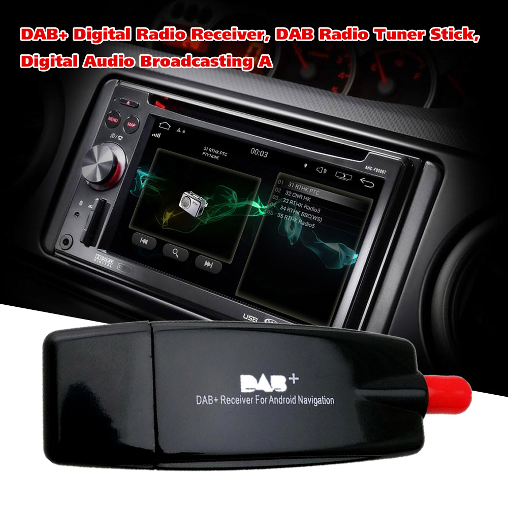 digital radio receiver dab dab radio tuner antenna for. Black Bedroom Furniture Sets. Home Design Ideas