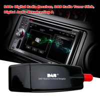 Digital Radio Receiver DAB+ DAB Radio Tuner + Antenna For Android Car DVD Player For Digital Audio Broadcast Receiver Styling