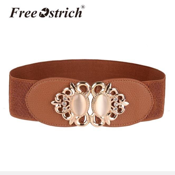Free Ostrich Belt Women Dress Elastic Cinturon Mujer Ceintures Pour Femme  Belts China Gem Decorations Set Dropshipping B0320 9d27adff8e6