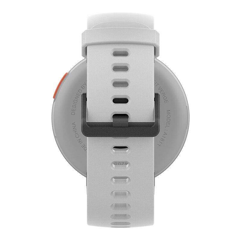 Version mondiale Huami Amazfit bord Sport Smartwatch GPS Bluetooth musique jouer appel réponse Message intelligent pousser moniteur de fréquence cardiaque - 6