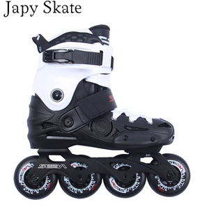 Image 3 - Japy סקייט מקורי סבע EB מקצועי סלאלום Inline גלגיליות מבוגרים נעלי החלקה על רולר הזזה משלוח החלקה Patines