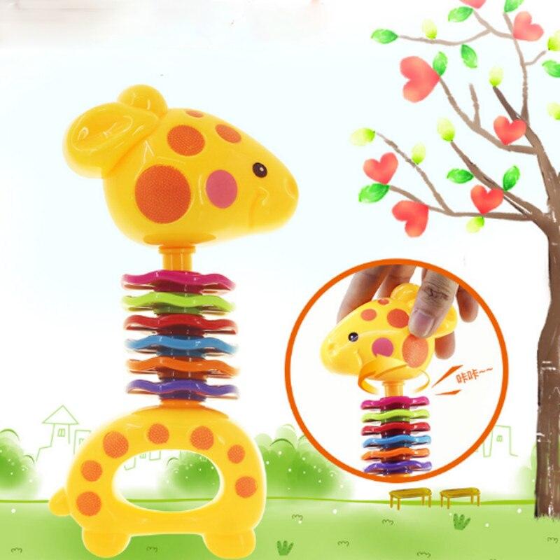 1 Pc Kawaii Mini Deer Baby Rassel Spielzeug Bunte Pädagogisches Spaß Wenig Laut Jingle Ball Greifen Fähigkeit Spielzeug Für Kinder Geschenk Und Ein Langes Leben Haben.