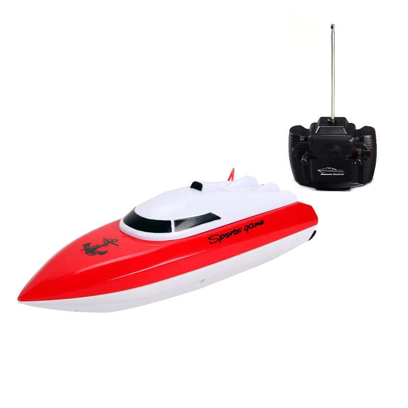 HeYuan 802 Speedboat RC Racing Boat Realistic High Speed Yacht Water Playing Intelligent Toy Remote Control Toys Orange Red Blue