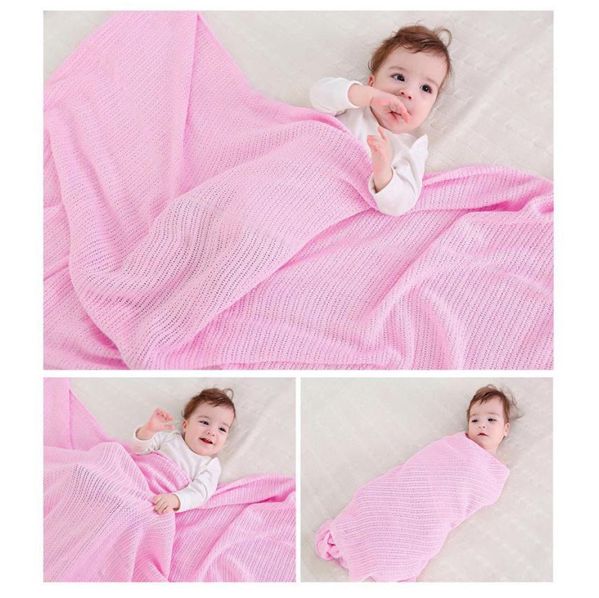 Baby Pram Cot Moses Basket Crib Blanket Shawl Wrap Blanket Swaddle Blanket