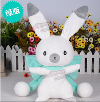 VOCALOID miku Snow Bell bunny rabbit green doll lovely toy cosplay accessory birthday gift Free Shipping
