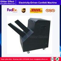Электрифицированным конфетти машина DJ этап специальные эффекты празднование цветной бумаги большой конфетти съемки пушки