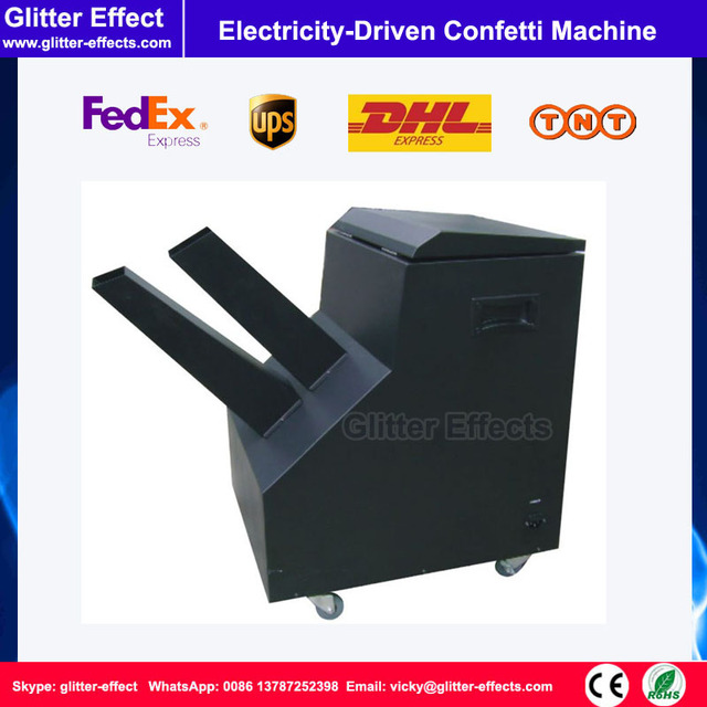Electricity Driven confetti Machine DJ stage special effects ...