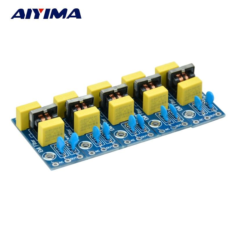 5pcs Electromagnetic interference filters (EMI Filter) pcb board 5pcs tdk 9mm clip on rfi emi filter ferrite