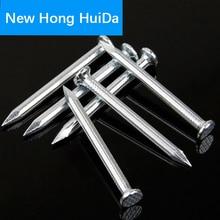 flat head Concrete nails Hardened Fluted Tiling High Strength Concrete Steel Nails M1.6 M2 M3 M4 M5 недорго, оригинальная цена