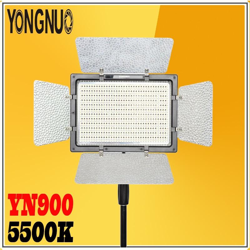 YONGNUO YN900 sans fil LED panneau de lumière vidéo LED lampe de lumière photographique 5500 K 7200LM éclairage pour Canon Nikon caméra caméscope