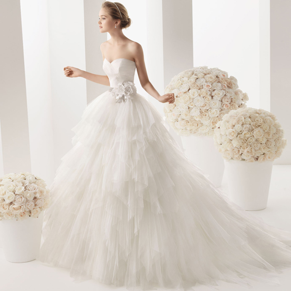 Wedding Gowns Dc: Fashion Dress 2015 Woman Sweetheart Bride Dresses