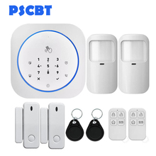 PS10 Wireless SIM GSM Home RFID Burglar Security Touch Keyboard GSM Alarm System Sensor Kit Auto Dial Phone Alarm сапоги marie collet marie collet mp002xw1i7dm