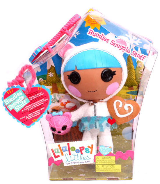 Blue hair White coat littles pita mirage doll toy MGA Lalaloopsy ...