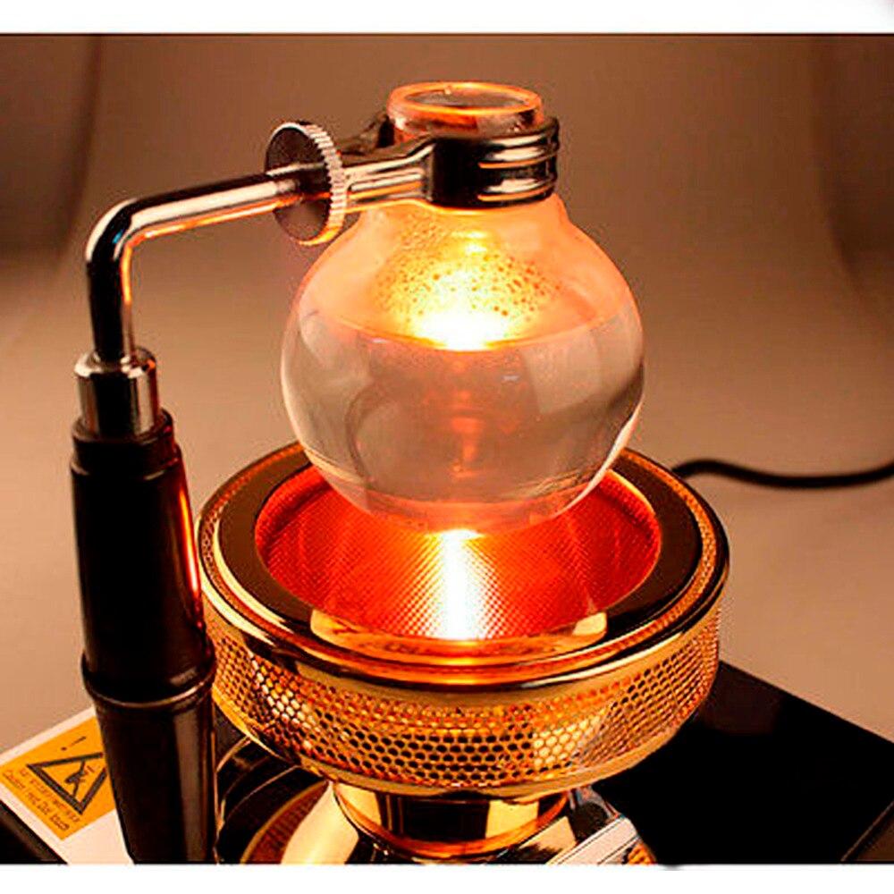Alta Qualidade New 220 V Feixe de Halogênio Aquecedor Queimador de Calor Infravermelho para Hario Yama Syphon Cafeteira