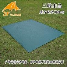 3F UL Gear Outdoor Multi-using Ground Sheet Wear-resistant Plaid Nylon Waterproof Mat