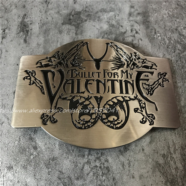 fb14b12c00d2 Bullet For My Valentine Métal Ceinture Boucle Rock ROYAUME-UNI Bande  Musique Boucles Fit 4