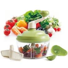 Lekoch Parutan Mesin Penghancur Buah Sayuran Cutter Manual Food Processor Daging Bawang Putih Chopper Penggiling Alat Dapur Aksesoris Gadget