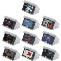 Video Game Cartridge 32 Bits Game Console Card ACT Action Games Series US EU Version English